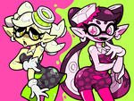 Squid Sisters by Shenaniganza