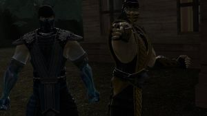 Scorpion and Sub-Zero! by McGillminator