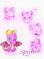 Spyro Expressions by KicsterAsh