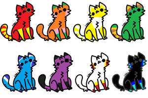 color catz adopt by MusicForRush