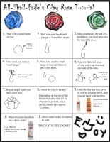 Clay Rose Tutorial by All-shall-fade