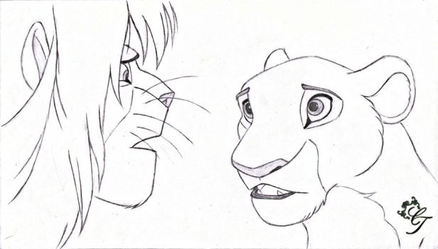 A Lion's Realization by Hidden-In-The-Stars