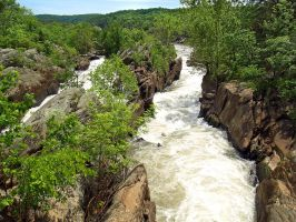 Great Falls of the Potomac 11 by Dracoart-Stock