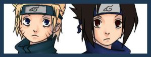rivaux in colour by SasuNaru-FanClub