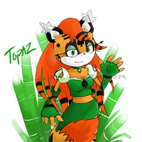 Request Topaz by SilverRiku
