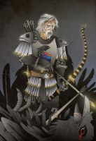 Brynden 'The Blackfish' Tully by acazigot