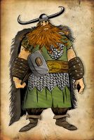Stoick in color by Leandro-Damasceno
