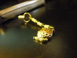 Owl Cell Charm by Zyanith