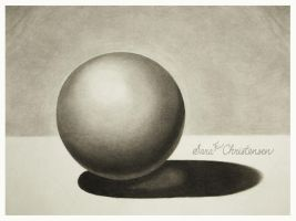 Charcoal Sphere by SaraChristensen
