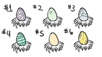 (CLOSED) Surprise Feline Egg Adopts - BATCH 1 by AlphaDogg777