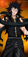 Fairy Tail - Gajeel by KhalilXPirates