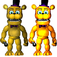 PlusFredbear/Toy Fredbear-Commission by Christian2099