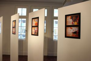 Photographic exhibition of old book by RobertaBohns