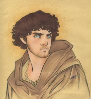 Athelstan (Vikings) by cillabub