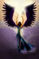 An angel by kwant