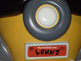 Lenny's License Plate by DarkRoleX