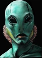 Abe Sapien by willpheonix