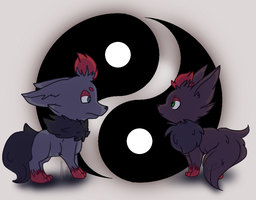 Yin and Yin by Snow-ish