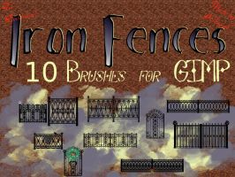 Iron Fences by kelzygrl