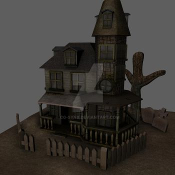 3d Haunted House by cg-synx
