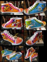 Puppy Personalised Shoes by Werepuppy