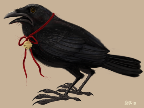The not so Silent Crow by German-Orozco