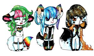 Adopt catans group All Sold by MonochromeRaver