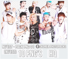 NU'EST - PACK PNG#01 by JeffvinyTwilight