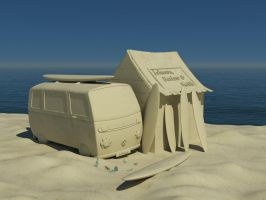 SURFING SANDS of '68 by spacchiettino