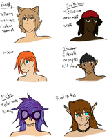 Just some OCs by Unknown-Variable