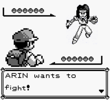 ARIN WANTS TO FIGHT! by NDSLover350