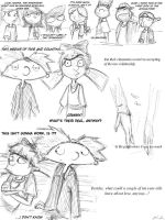 Arnold and Helga pt. 2 - sketch 4 by AJanae79