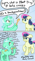 Lyra likes that thing a little too much by Arrkhal