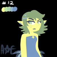 Astrea Palette Challenge by PrinsesDaisyfanfan1
