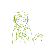 Nepeta Leijon Sketch by animelovergirlwolf14