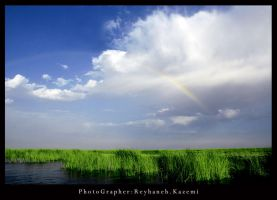 My rainbow in the sky by reyhanehkazemi