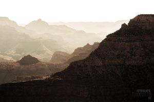 Dusty Grand Canyon by Pixelfusionen