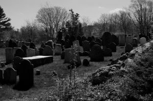 Old Burial Hill by Conjure-Photography