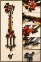 Chaos Ripper Keyblade by Bayr-Arms
