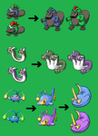 Fakemon Sheet 7 by Jappio01