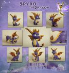 Spyro the Dragon Sculpture by Strecno