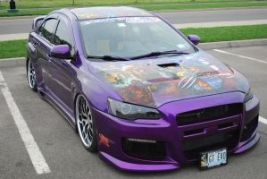 2010 MITSUBISHI Lancer Evolution GSR (I) by HardRocker78