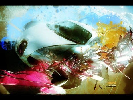 Abstract Car... by K4m3l0r7