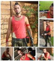 VaaS Montenegro Far Cry 3 Cosplay Romics 2012 by Haianba