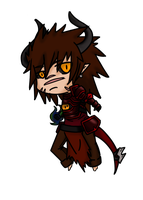 Akito, Chibi Demon Knight by AydenHisakaru