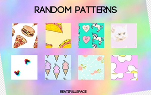 Random patterns. by BeatifullSpace