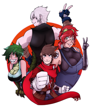Fanart for Freak of Nature by Chibi-Works