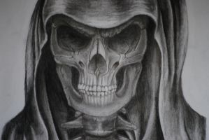 Skull by crazydedmoroz