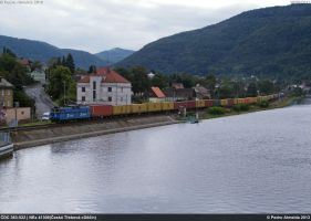 CDC 363-522 NEx41308 Usti nad Labem 19-09-13 by Comboio-Bolt
