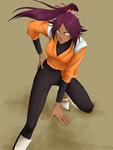 Yoruichi copy by peace-of-hope